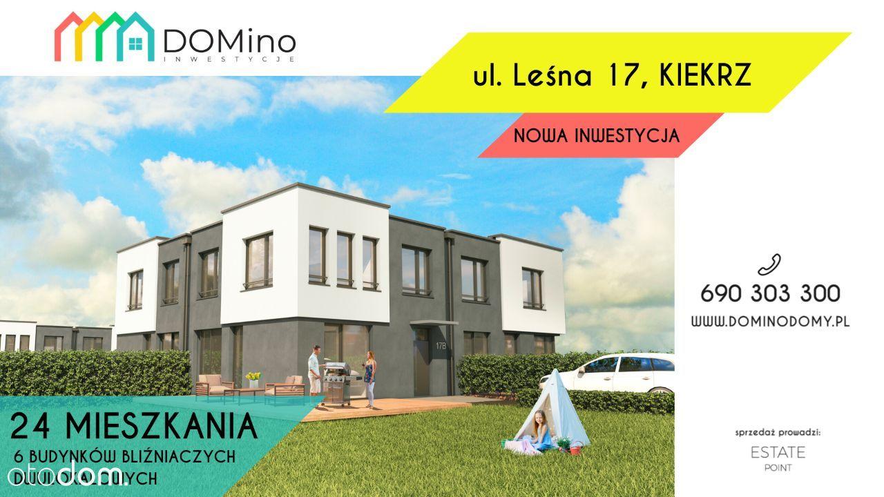 Nowe domy w KIEKRZU bliska odległość do Jeziora