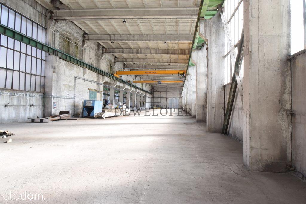 Hala przemysłowo produkcyjna 1720m2