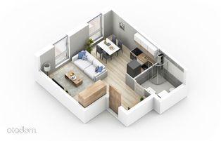 Ostatnia kawalerka, minimalistyczne osiedle