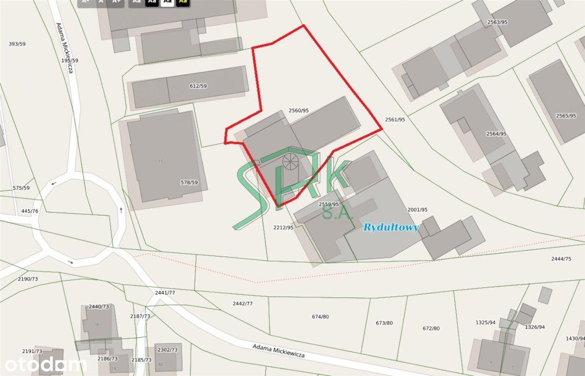 Lokal użytkowy, 813 m², Rydułtowy