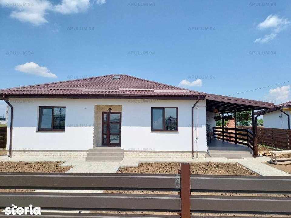 Casa noua parter 136 mp, Sabareni, 11 km de Bucuresti