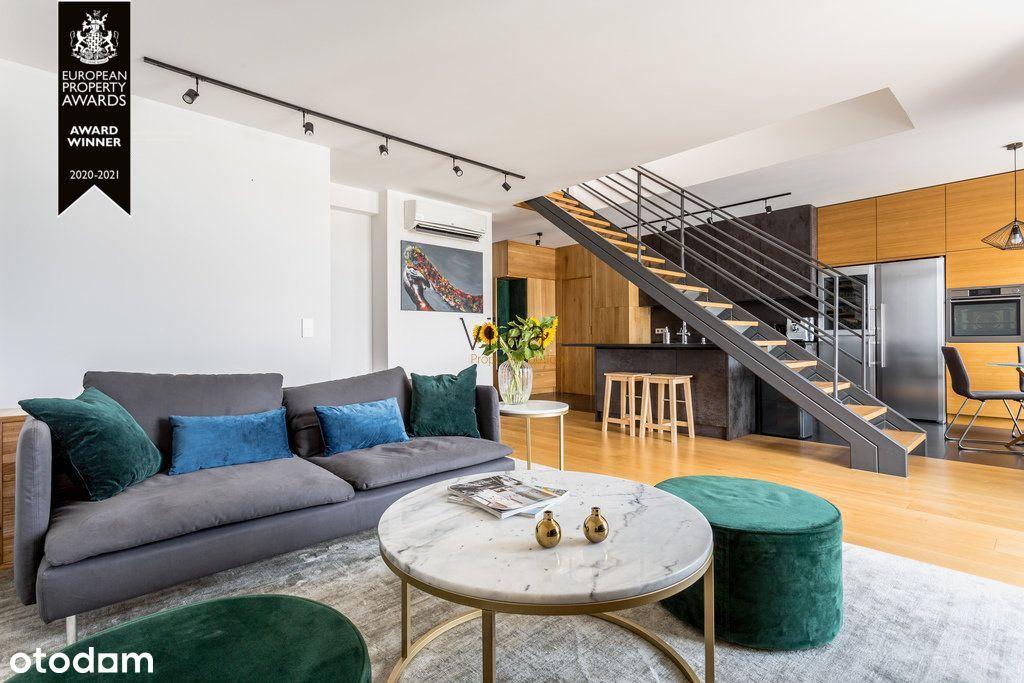 Luksusowy Apartament z Tarasem w Porcie Praskim