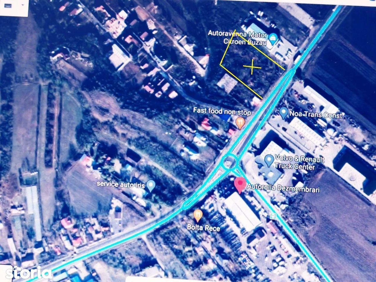 Teren activitati comerciale/industriale/locuinte, Buzau -e85