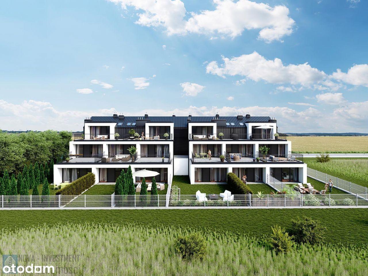 Apartament Dwupoziomowy Z Ogródkiem I Tarasem