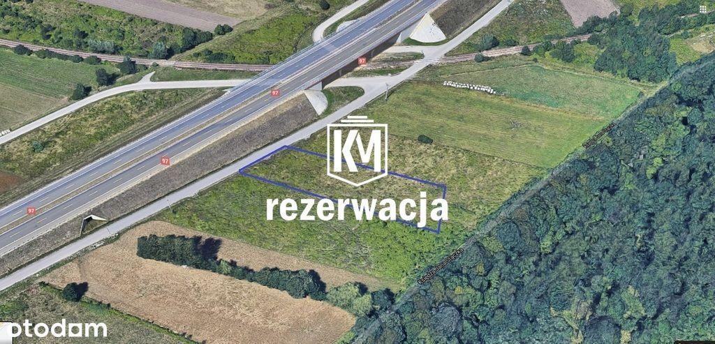 Działka usługowa 22 a Rzeszów ul. Stączka.