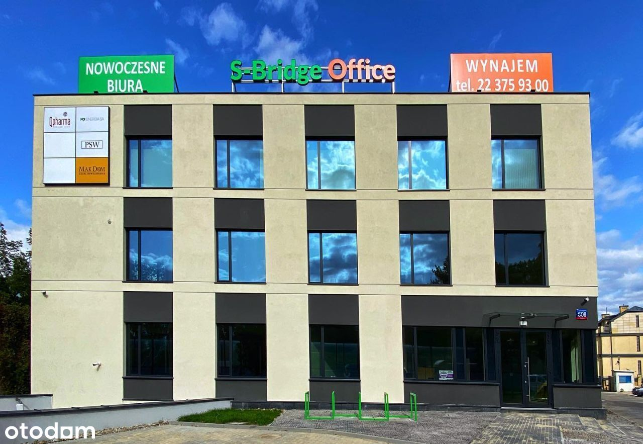 S-Bridge Office Park-nowoczesne lokale na wynajem