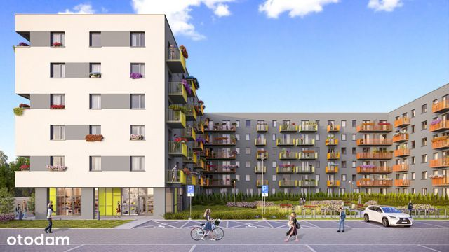 Ustawne mieszkanie City Vibe 5.D.139