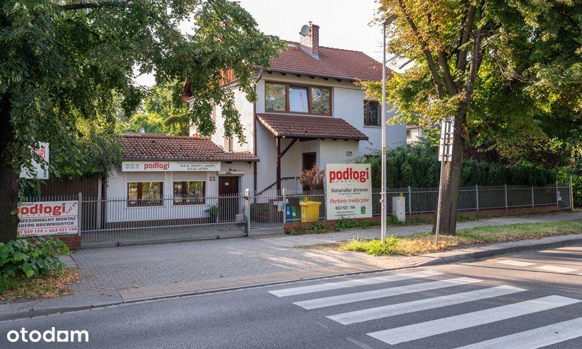 Dom z lokalem użytkowym Wrocław al.Kochanowskiego