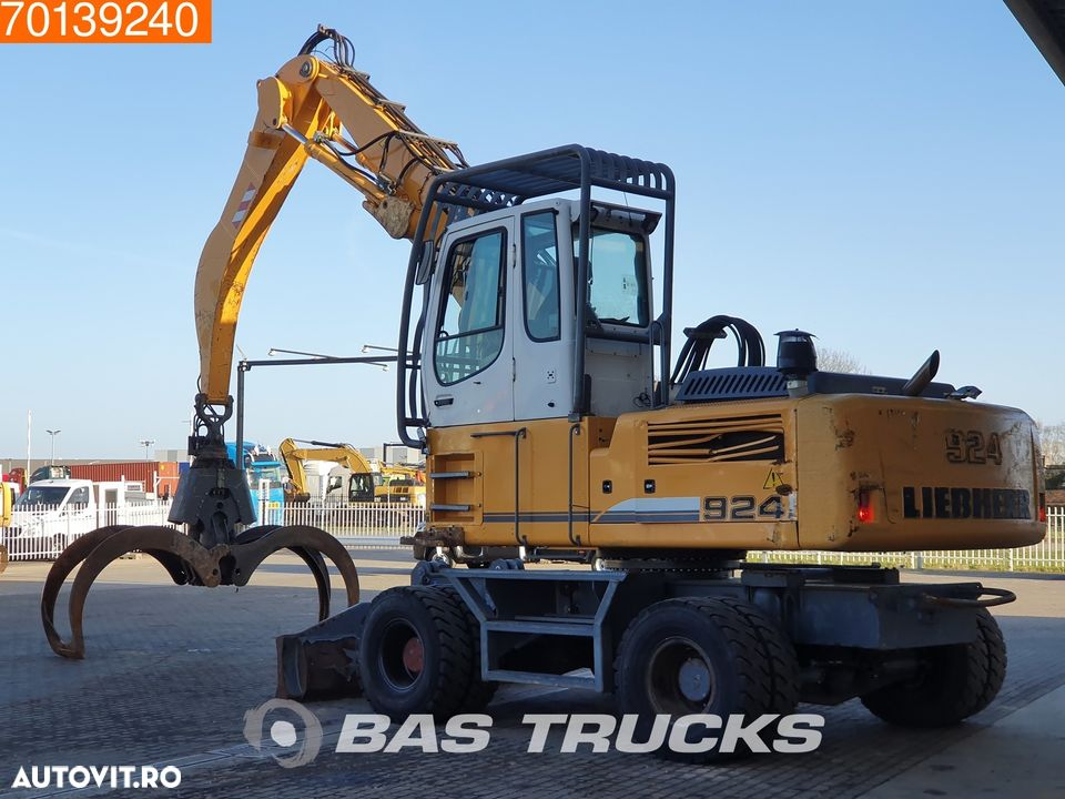Liebherr A924C C-HD Litronic WITH GRAPPLE - 2