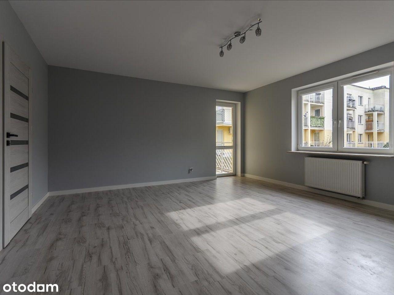 Mieszkanie po zakończonym w lutym 2021 r remoncie.