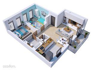 Mieszkanie Ip. 65m2+9m2+ogród 55m2 C6.1
