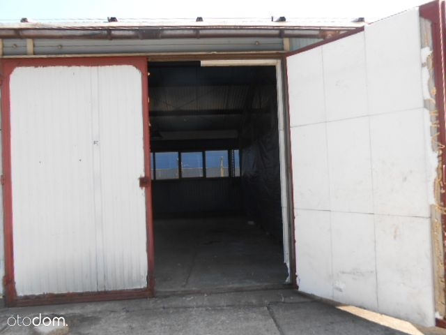 Magazyn 40 m2 poziom zero duża brama.