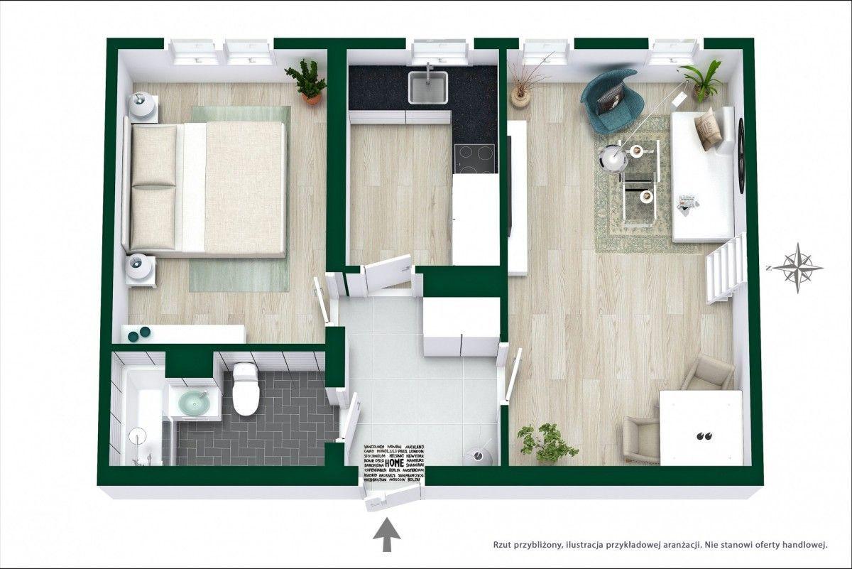 Mieszkanie blisko metra - możliwe 3 pokoje