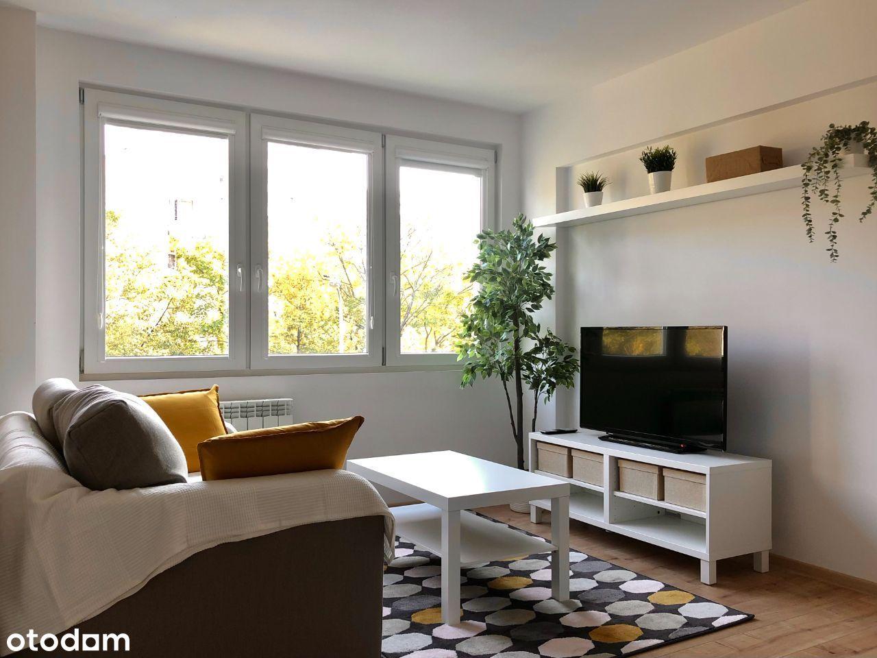2-pokojowe mieszkanie na cichych Nowolipkach