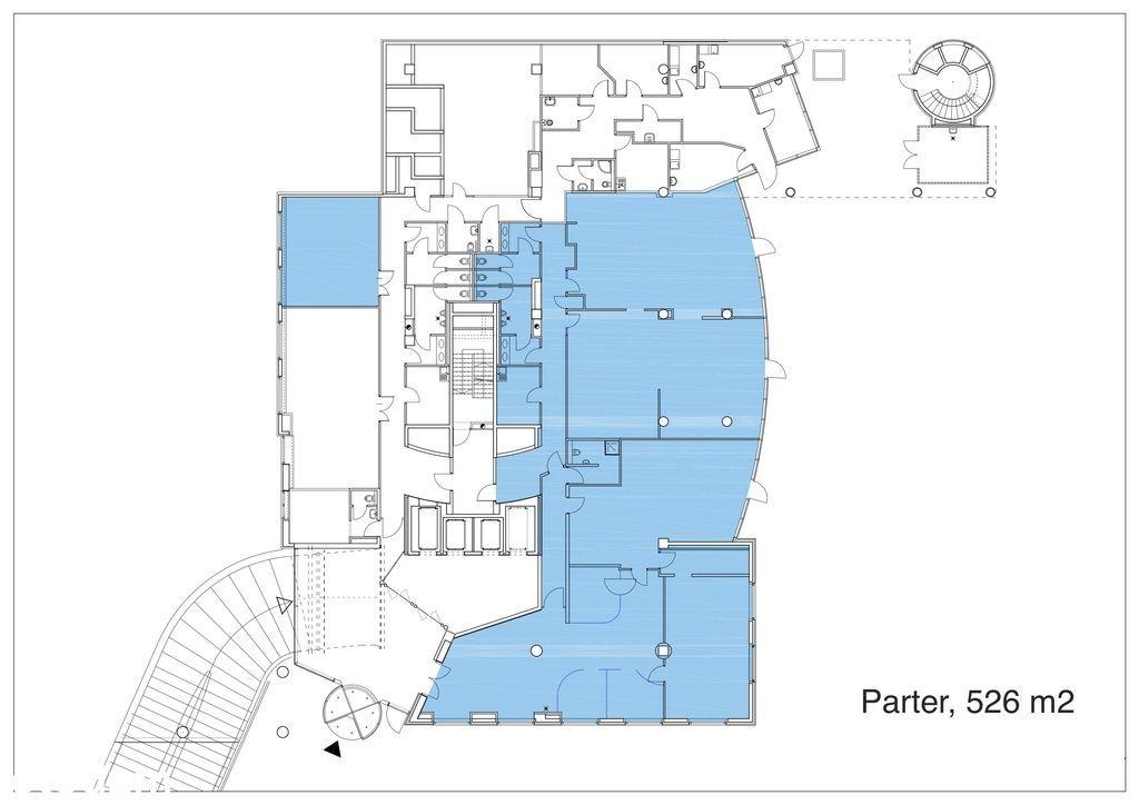 Lokal na partere 526 m2 na Śródmieściu