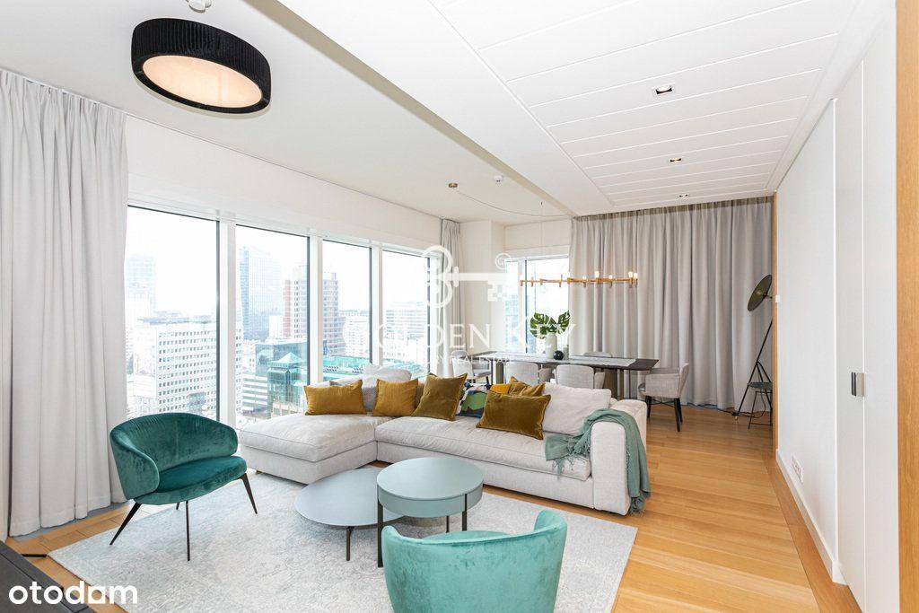 Luksusowy apartament na 16. piętrze, Złota 44