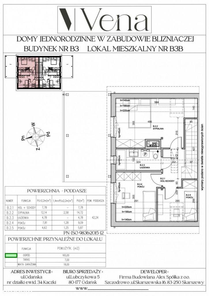 Dom bez czynszowy w zabudowie bliźniaczej B3B