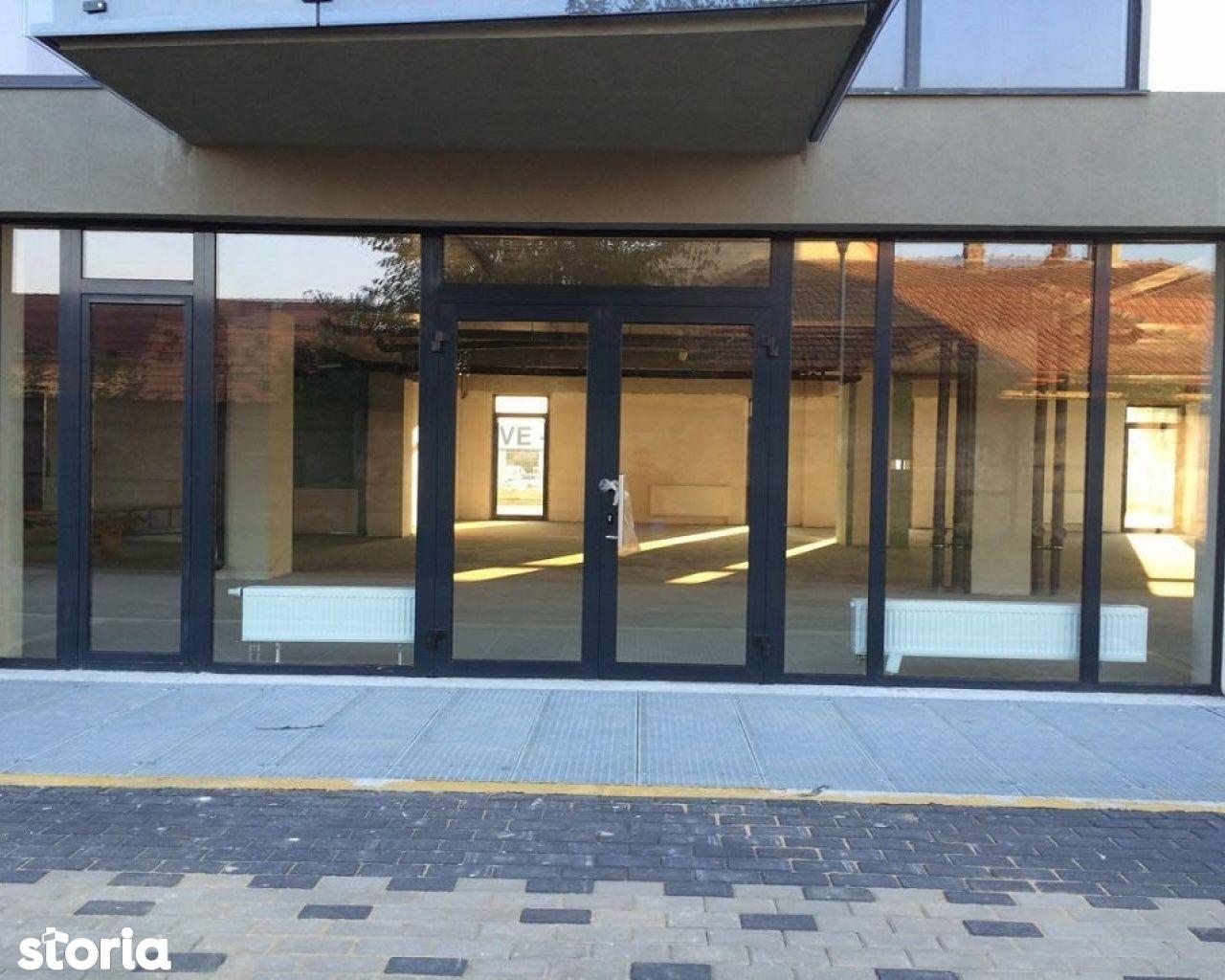 Spatiu comercial 525 mp ideal showroom