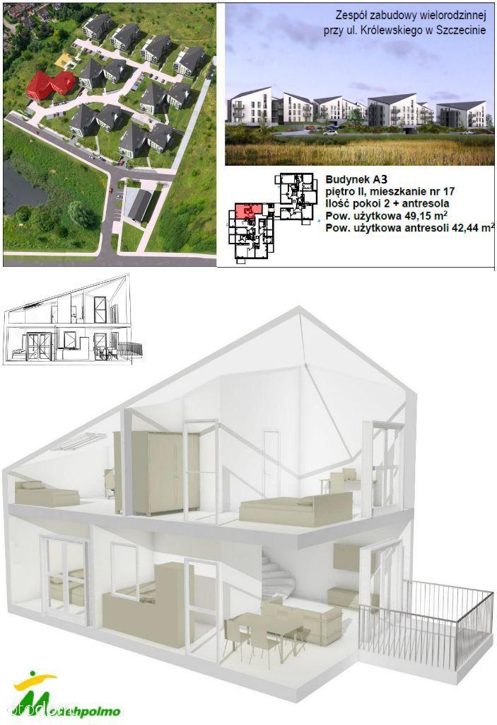 GALAKTYKA mieszkanie 2-poziomowe z antresolą A4-17