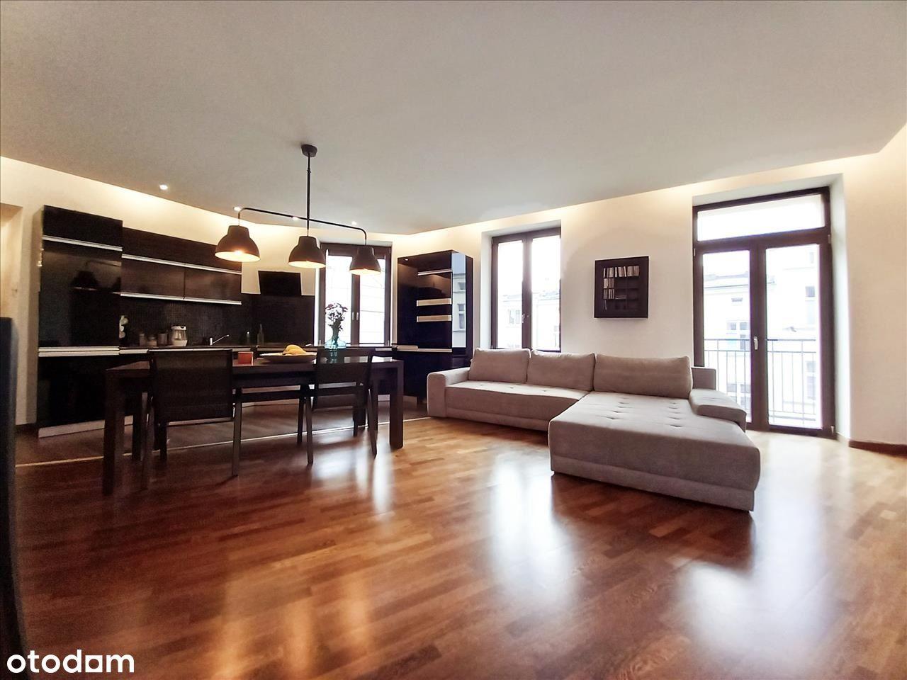 Centrum-wyjątkowe 2 pokojowe mieszkanie o pow.85m2