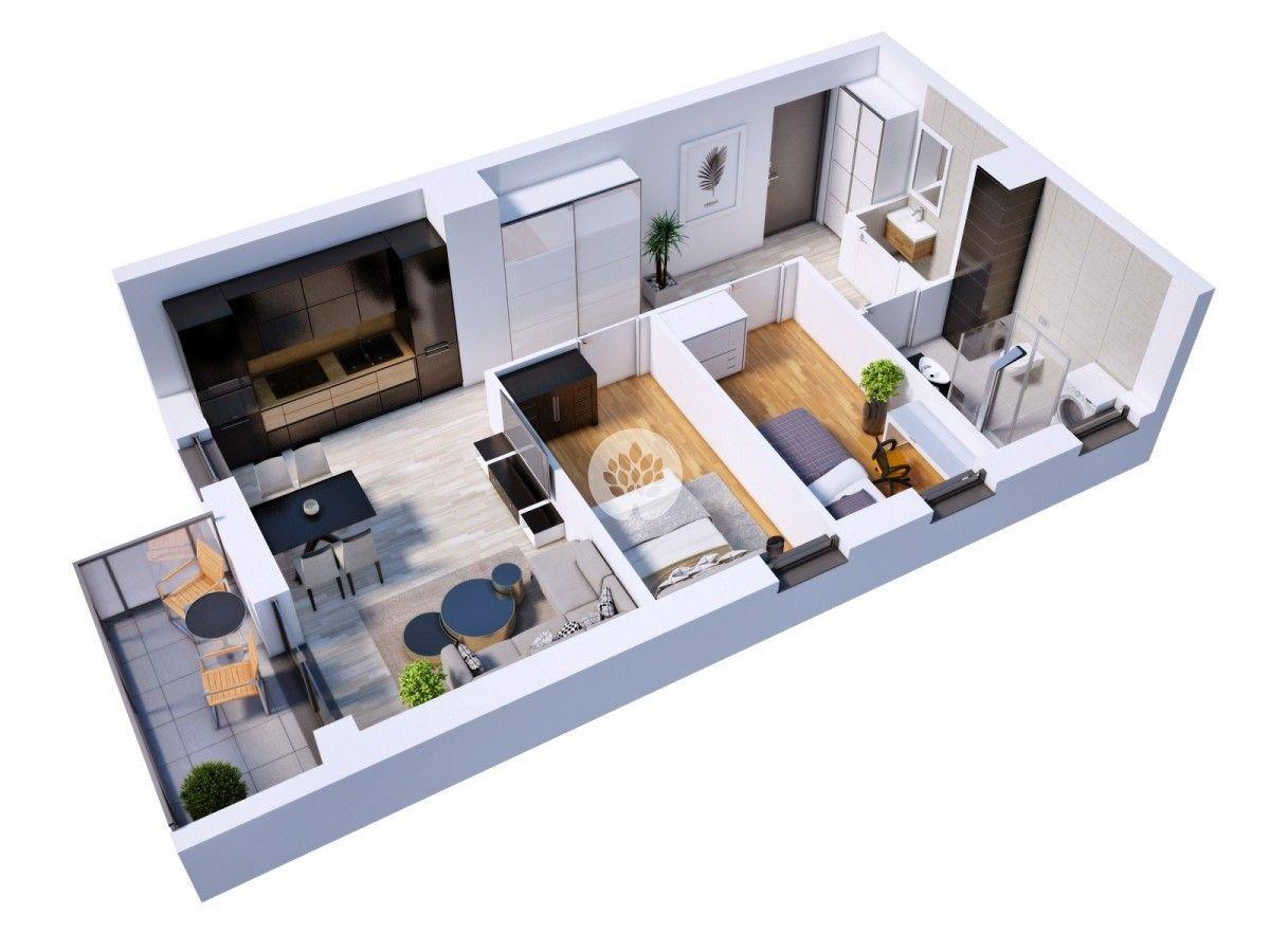 Apartament na Kapuściskach, 2/3 pokoje, 0%prowizji