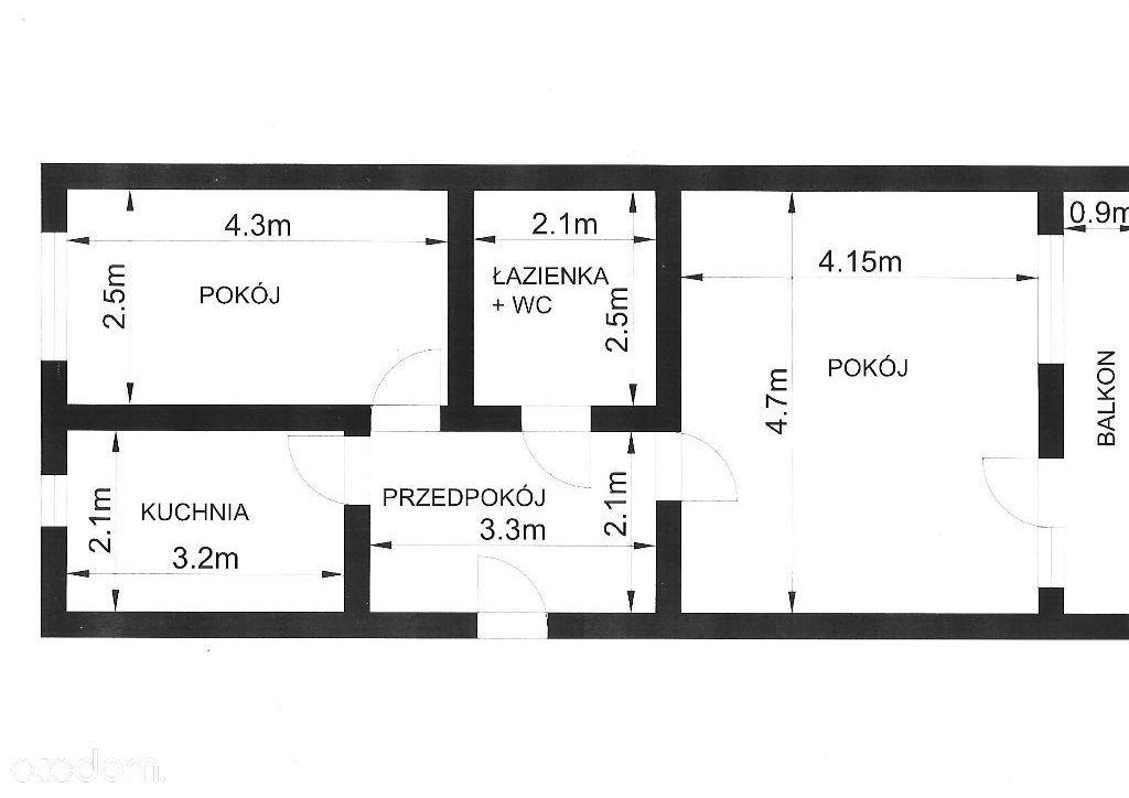 Mieszkanie w atrakcyjnym miejscu Podzamcza