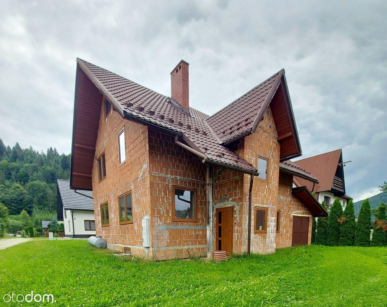 Dom 172m2 miejscowość Szlachtowa (gm. Szczawnica)