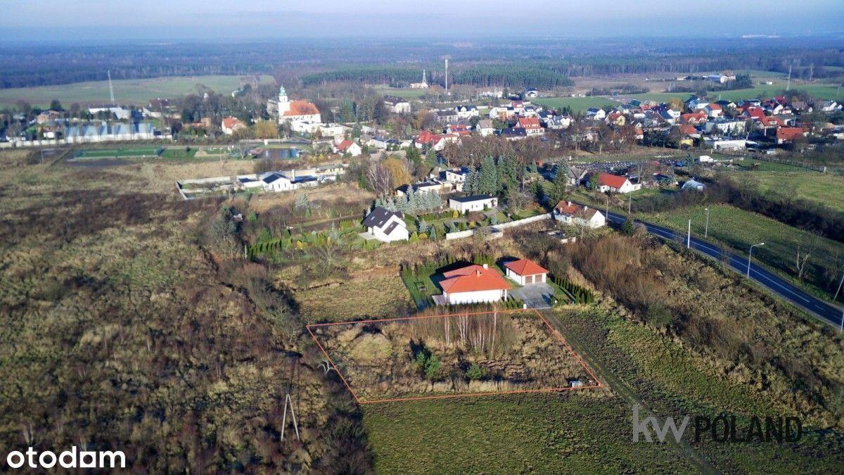 Atrakcyjna działka przy pięknych terenach Morasko