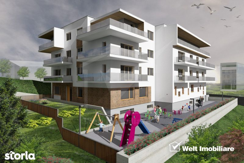 Penthouse, la 3 minute de Gheorgheni, terasa 47 mp, zona Borhanci