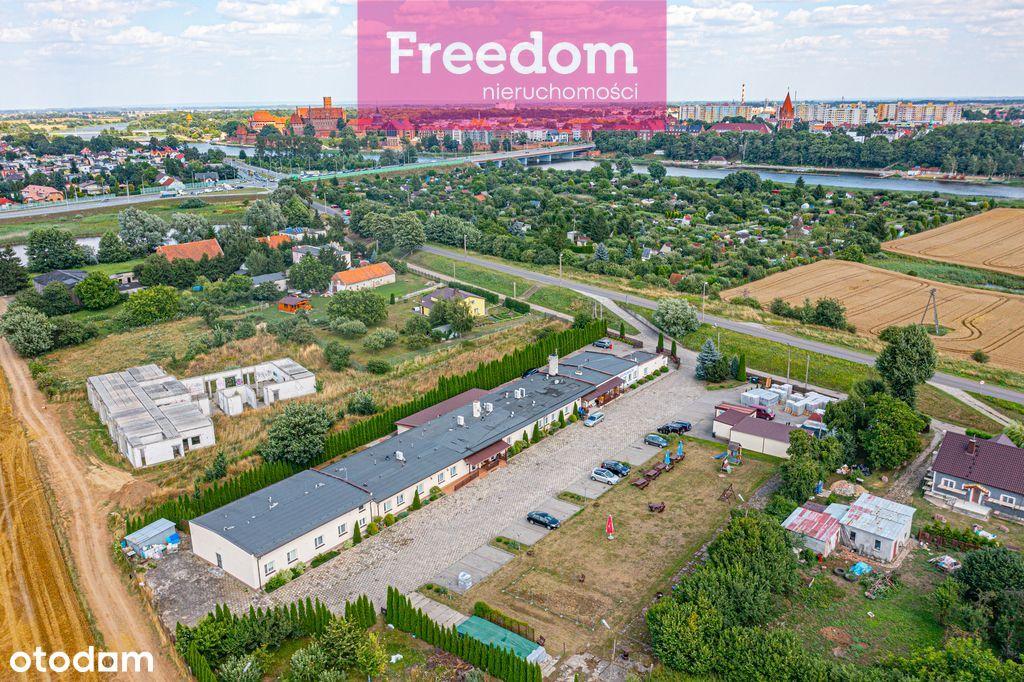 Pensjonat z dużym potencjałem blisko Malborka.
