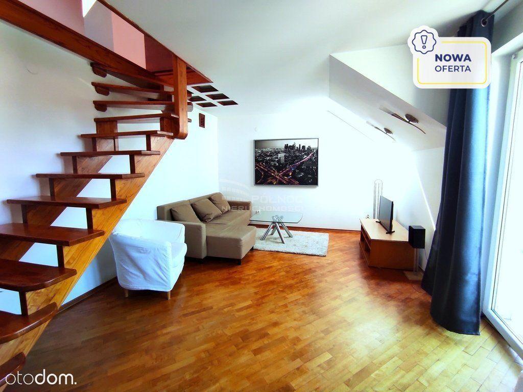 Dwupoziomowe mieszkanie w dzielnicy Kliny-Zacisze
