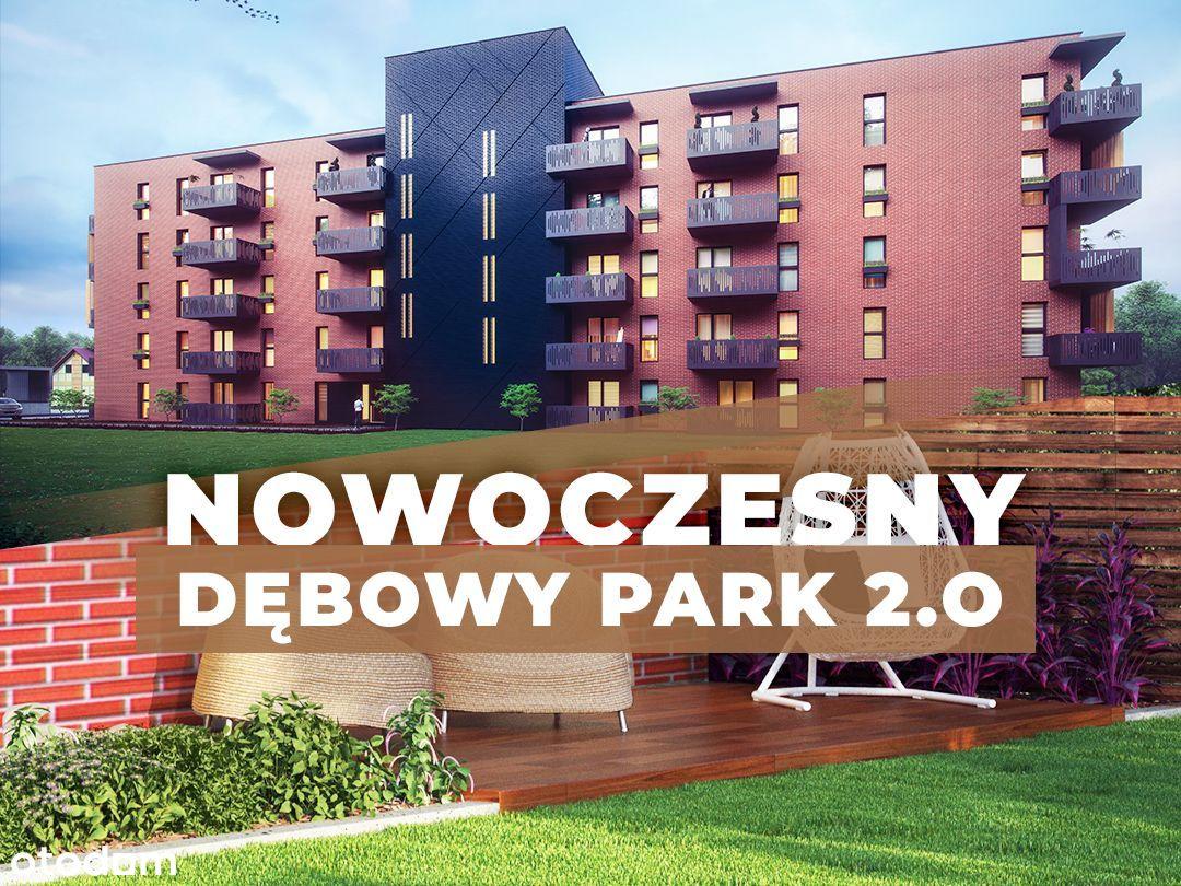 36m2 | dwa pokoje| Dębowy Park 2.0 | Miła