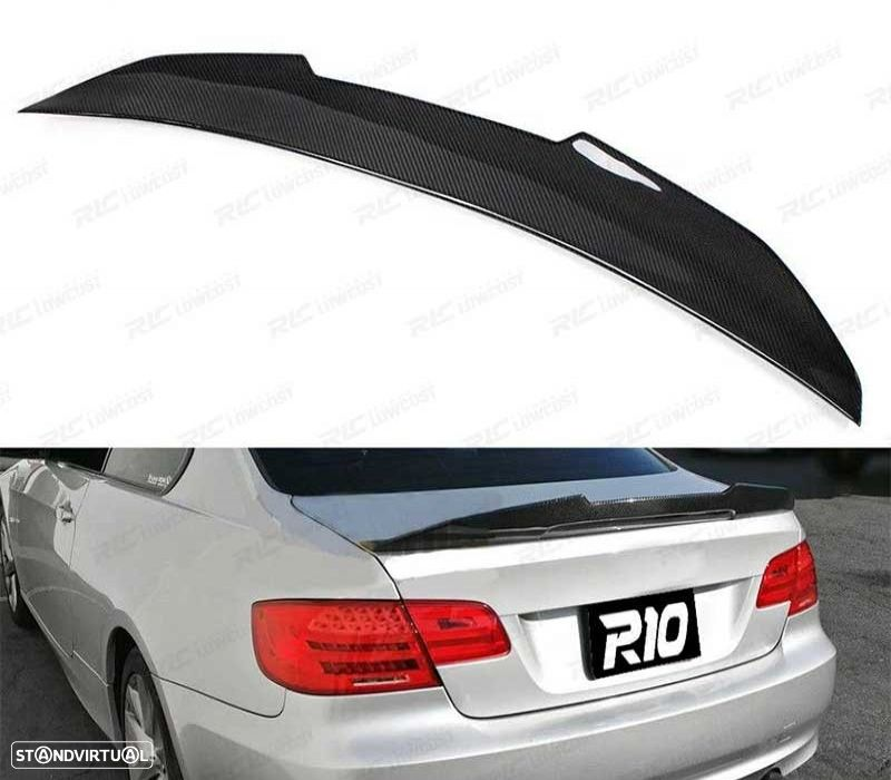 COPY OF AILERON LIP BMW SERIE 3 E92 06-14 COUPE LOOK M4 PSM CARBONO - 3