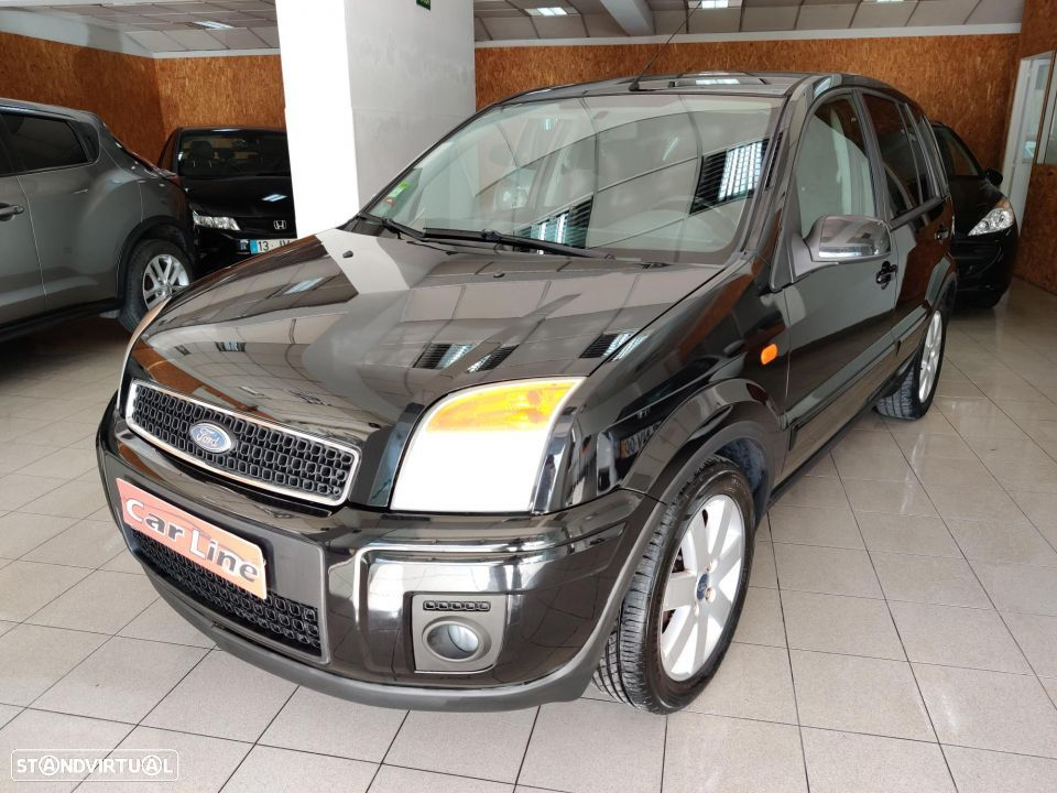 Ford Fusion 1.25 + - 1