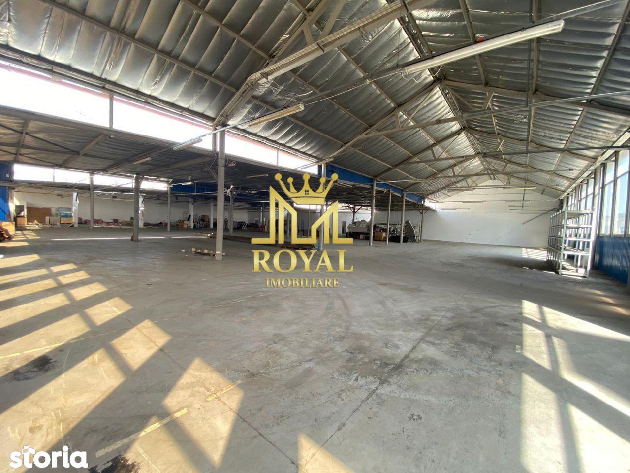 Hala Industriala pentru Productie / Depozit de inchiriat - Zona Uta