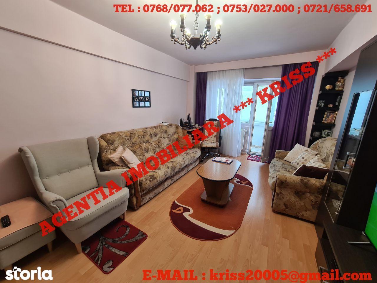 Apartament 3 Camere PRUNDU Etaj 1 CF. 1 Decomandat 2 Balcoane