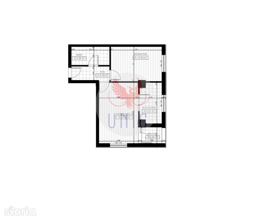 2 camere, bloc nou, Cornitoiu (ID: 4369)