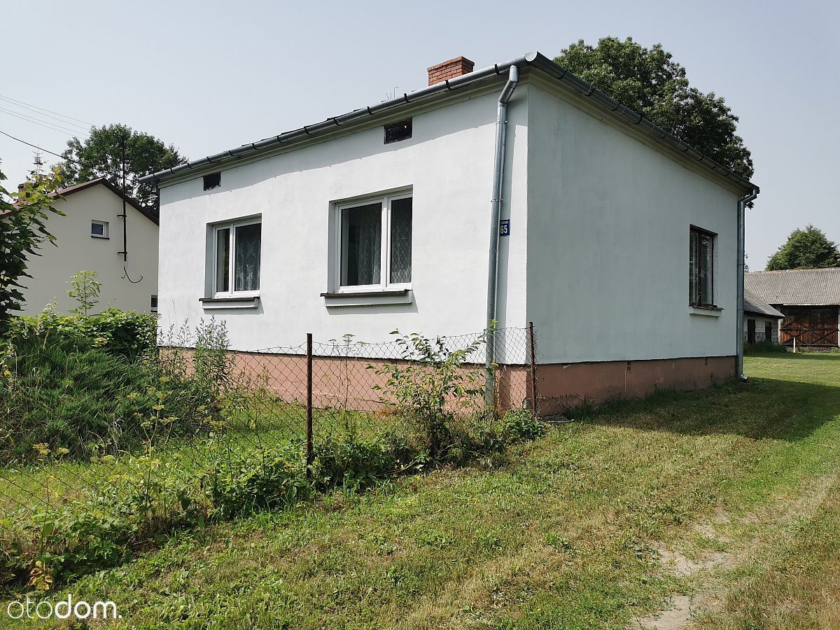 Dom Murowany 70 m2. Działka 4800 m2. Łukówek gm. S