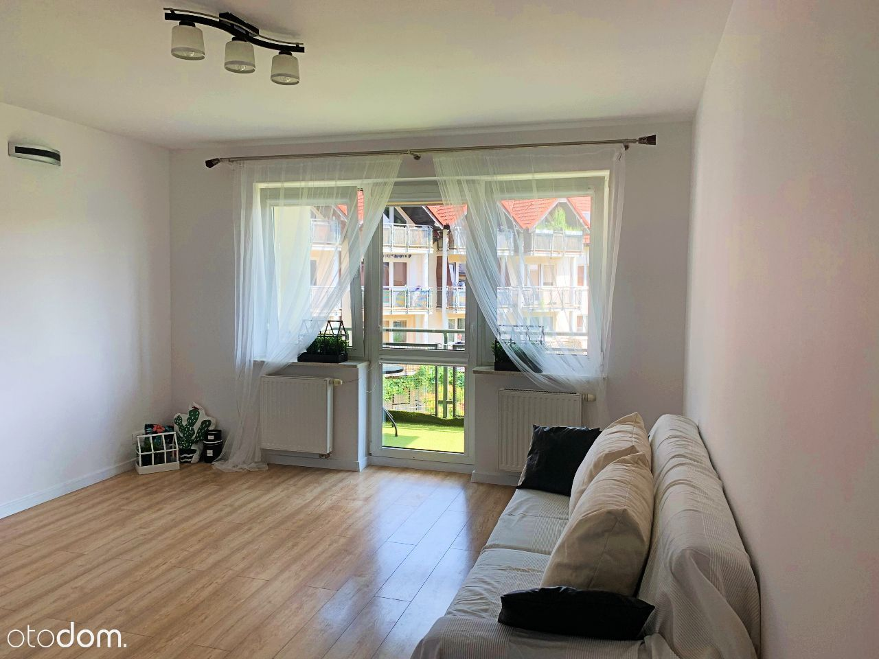 2 pokoje, duża kuchnia, 58 m2