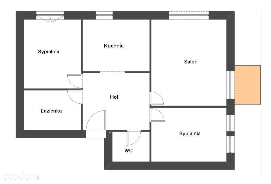3-pokojowe mieszkanie Rembertów