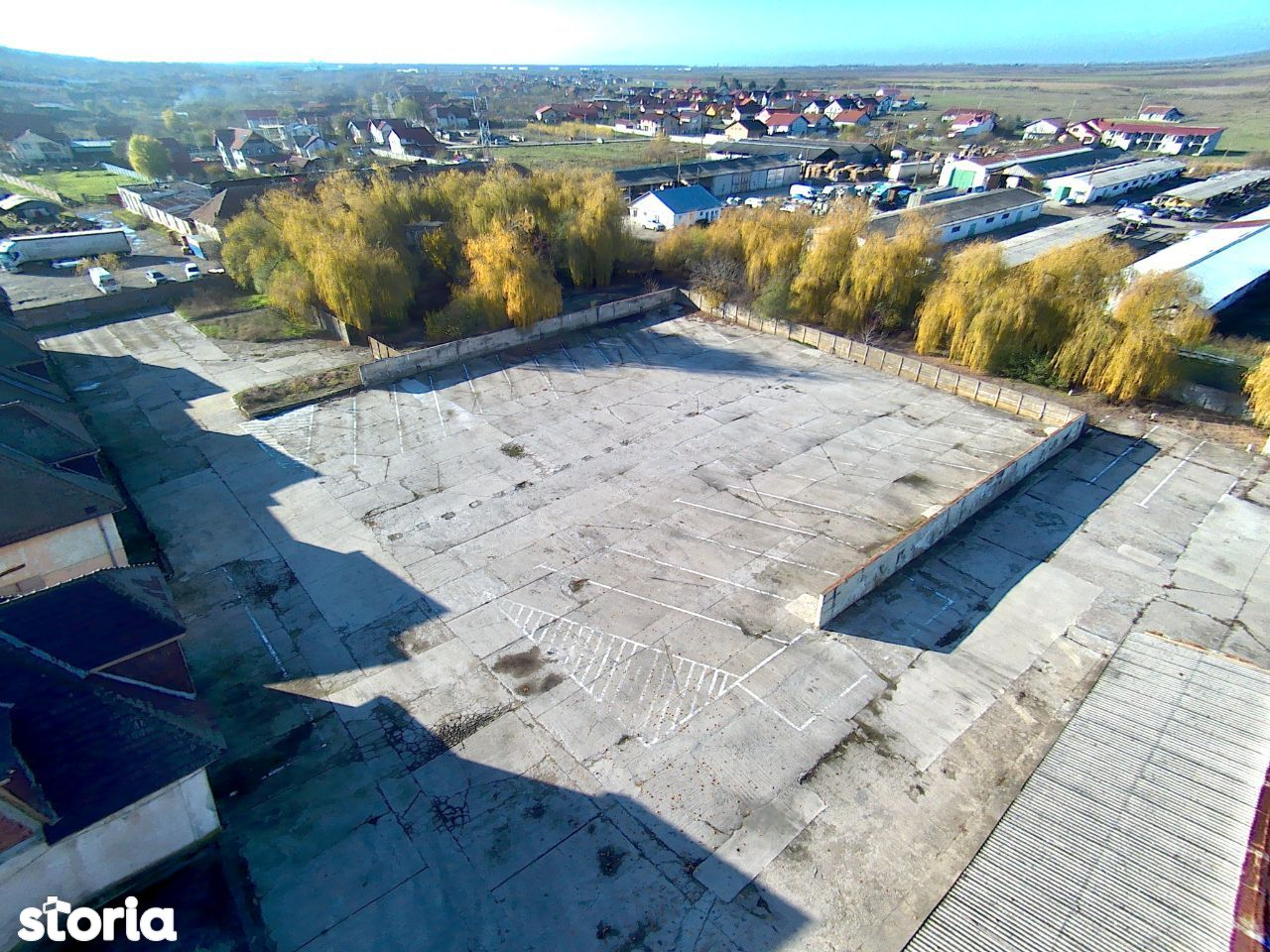 Curte - Platforma betonata Remetea Mare-parcare sau depozitare 0.5E/mp