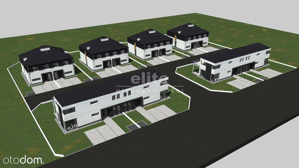 Mierzyn kameralne osiedle, nowy dom bliźniak.