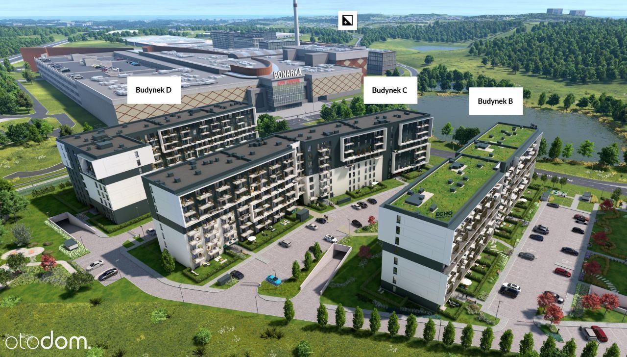 Bonarka - ustawne 3 pokoje + ogródek - IQ 2023 r.