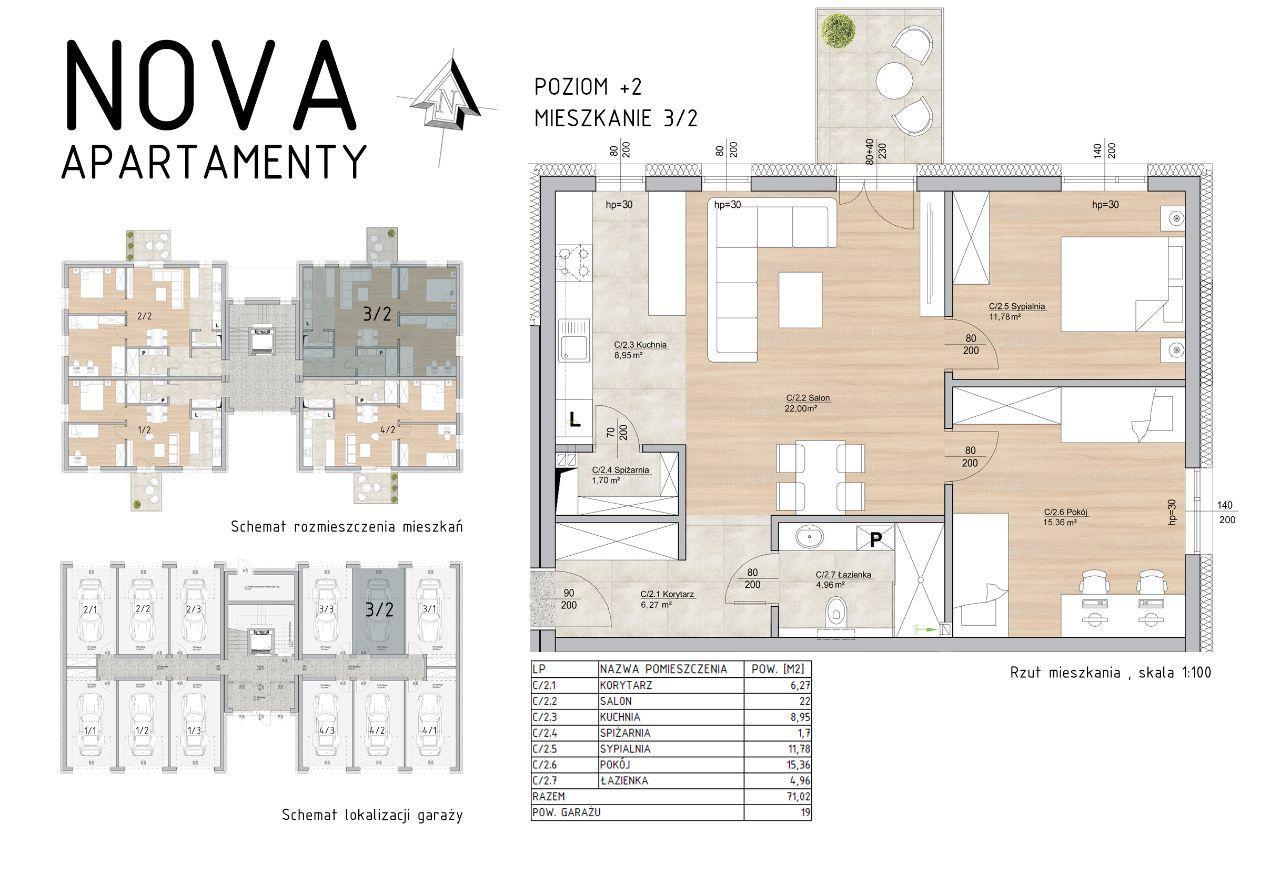 Funkcjonalne Mieszkanie Nova Apartamenty M3/2