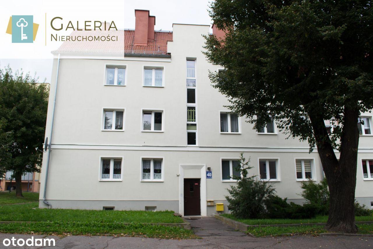 Dwupokojowe mieszkanie na parterze o pow. 40,20 m2