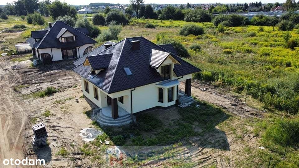 Nowy dom 148 m2 Siedlce ul Wierzbowa -stan dew.