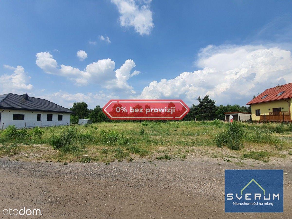 Działka budowlana 1000 m2 Kiedrzyn