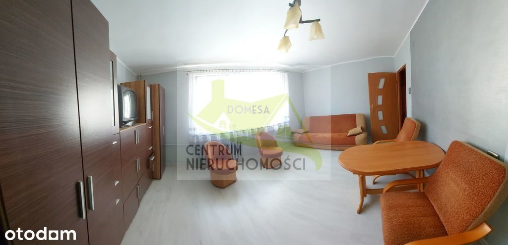 Wyposażone 2 pokojowe mieszkanie
