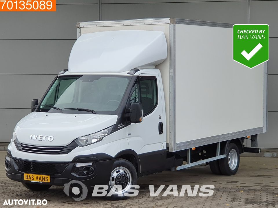 Iveco Daily 35C16 Automaat Dubbellucht Airco Laadklep Bakwagen Airco Cruise control - 1
