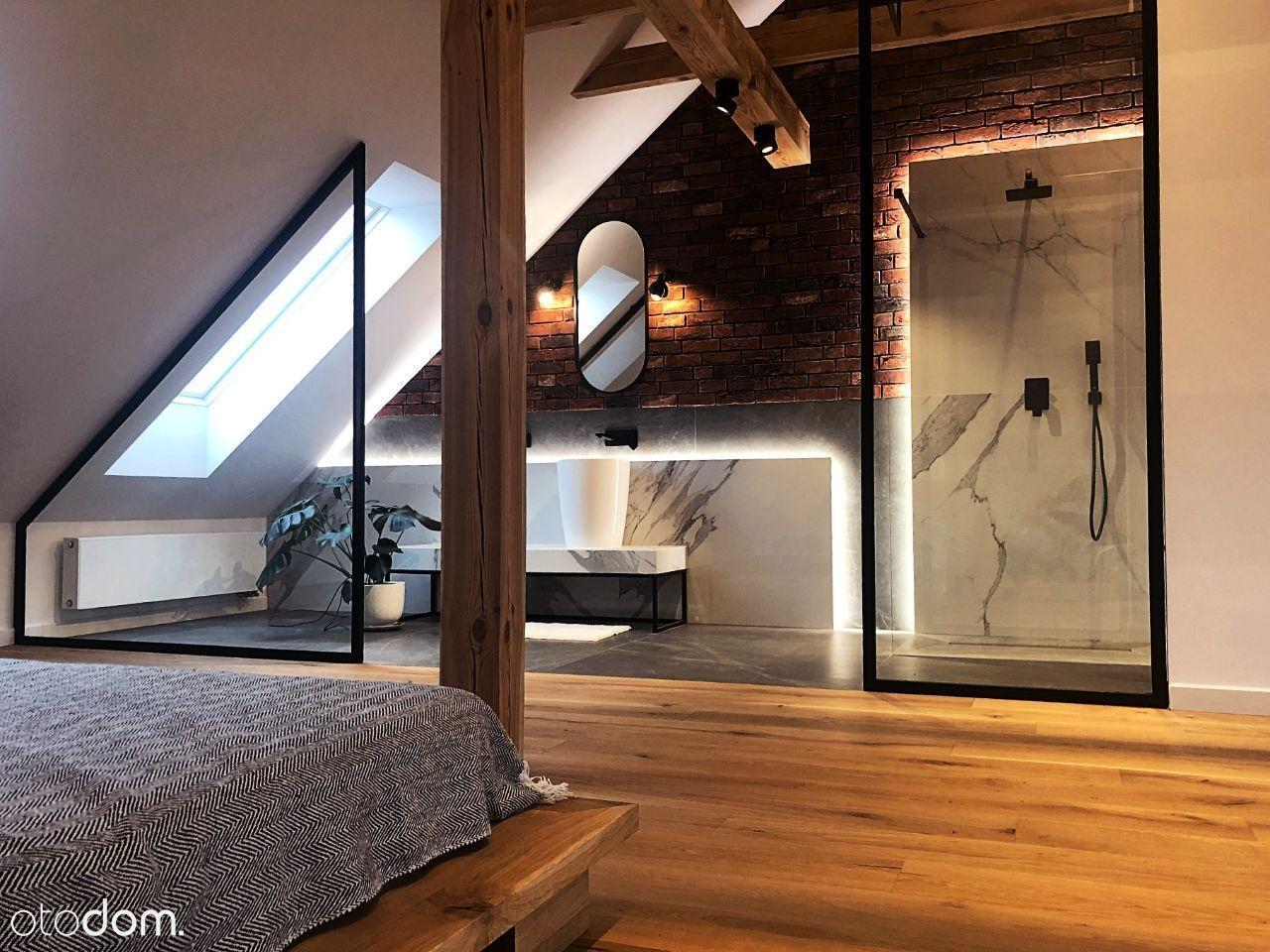 Dwupoziomowe mieszkanie z otwartą przestrzenią